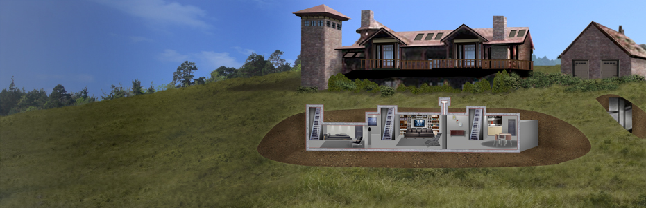 House with Bunker